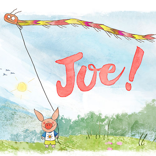 Poster de Joe le petit cochon